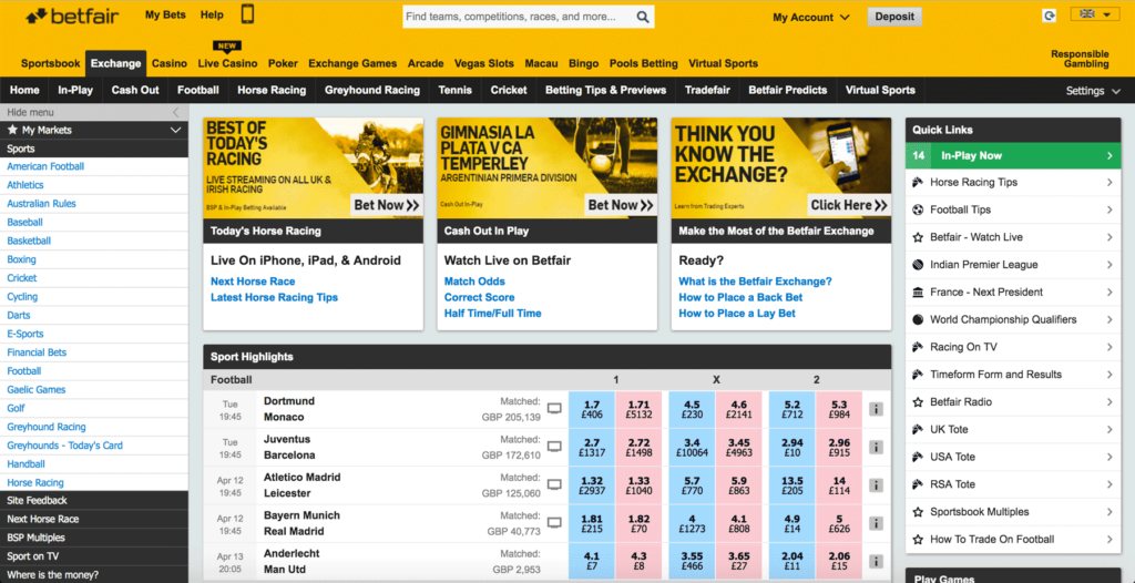 Which is better? Smarkets or Betfair