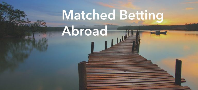 Matched betting outside the UK - 2020