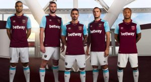 football shirt sponsorship - west ham and betway
