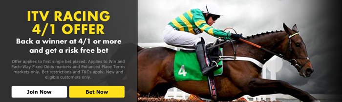 Matched betting horse racing - Bet365 ITV racing