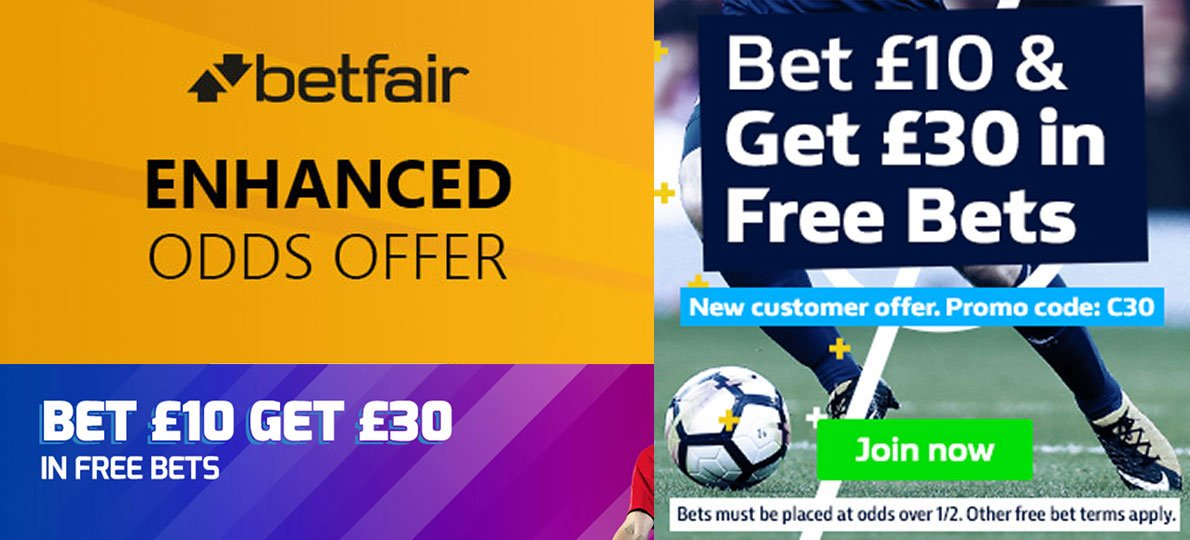 Matched free bets vs enhanced odds