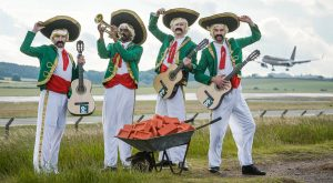 Paddy Power send Mexican band to greet Donald Trump