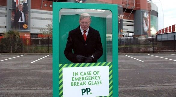 Paddy Power's Sir Alex Ferguson wax statue