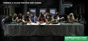Paddy Power - The last supper