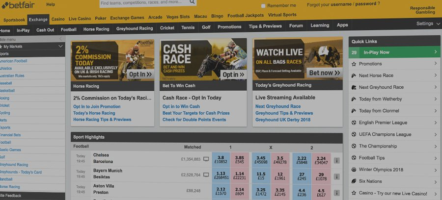 What is a betting exchange? Betfair