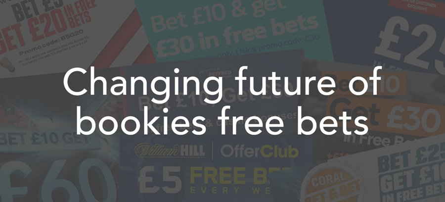 Bookies free bets set to change - how matched betting is affected