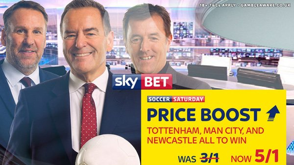 Matched betting 2019 - Skybet price boost