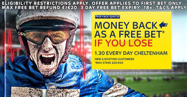 Cheltenham 2018 matched betting offer
