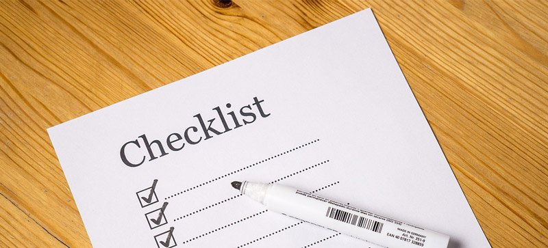 Matched betting checklist