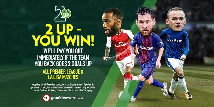 Matched betting on the Premier League - PaddyPower 2Up offer