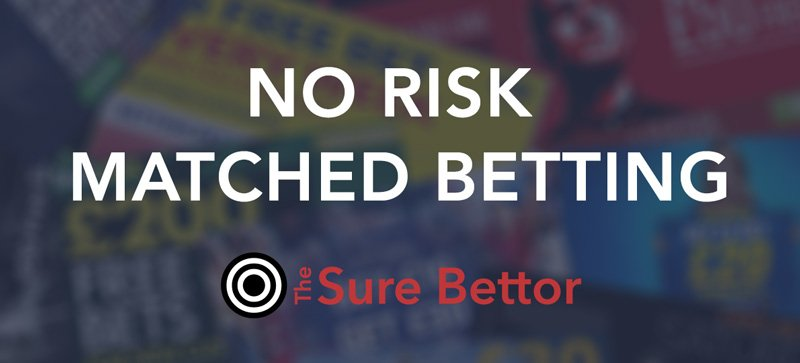 What is no risk matched betting and how does it work?