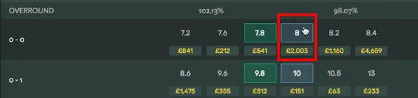 Matched betting with Smarkets