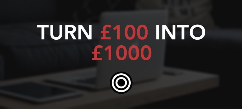 Turn £100 into £1000 using matched betting