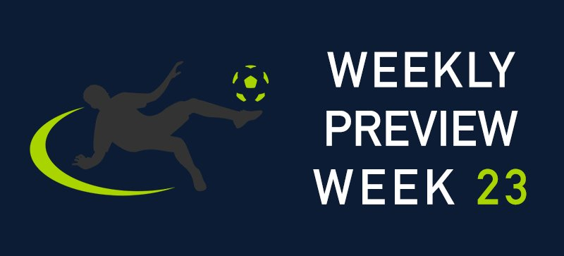 Premier League Weekly Preview 23