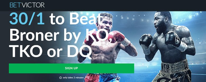 Boxing betting offers