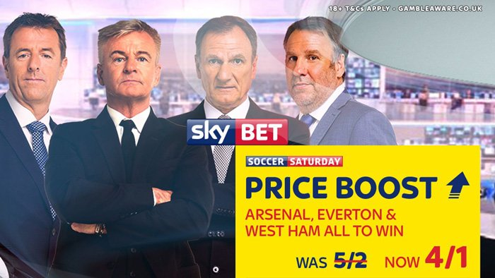 Sky Bet football price boost