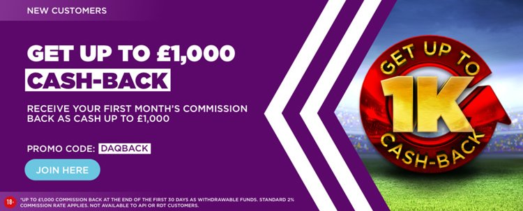 Betdaq exchange promotion 2019