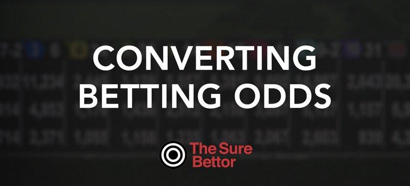 Convert betting odds