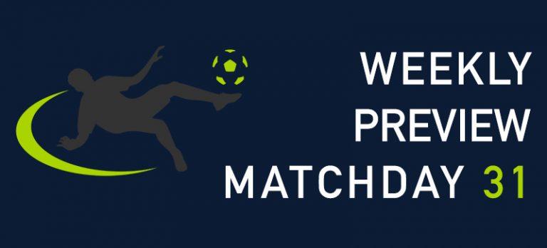 Premier League preview 31