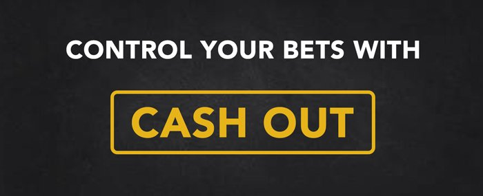 Control bets with cash out betting