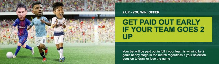 Paddy Power 2 Up promotion