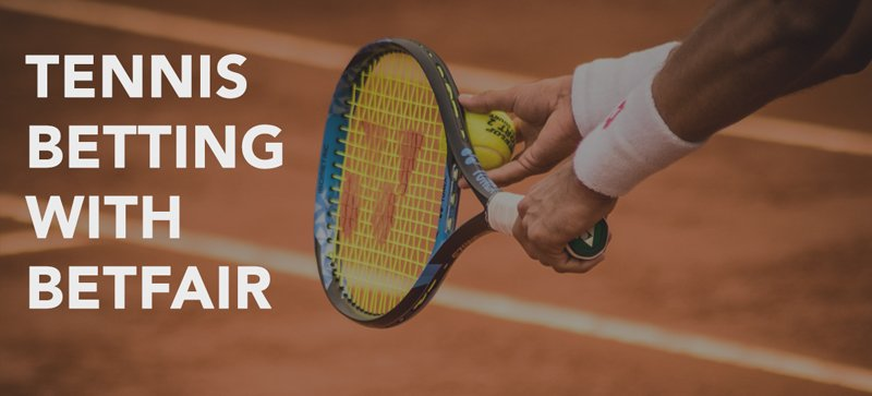 Tennis betting with Betfair