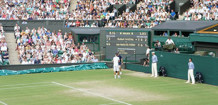 Betting on tennis - Wimbledon
