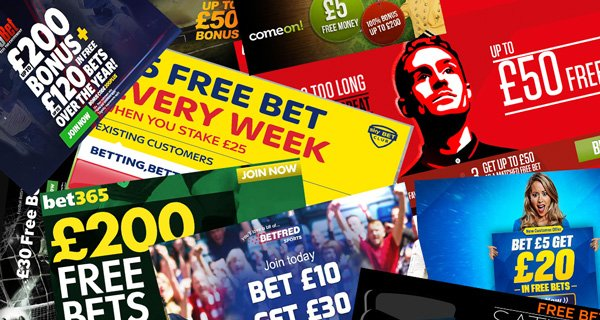 Football betting free bets