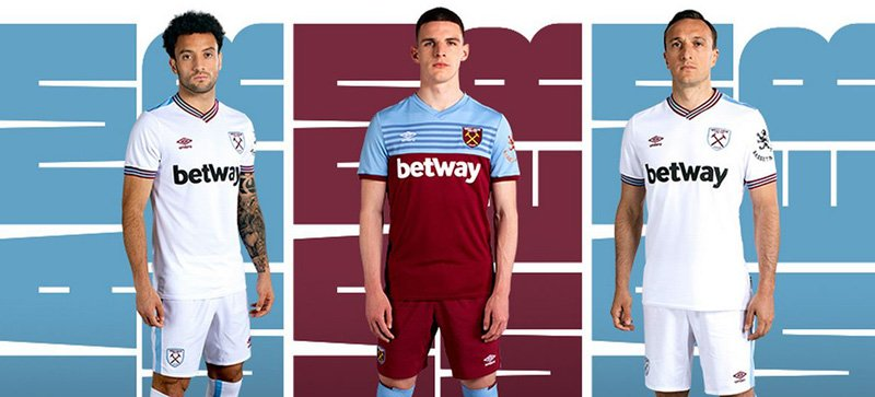 Gambling sponsors - West Ham and Betway