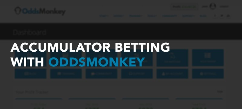 Accumulator betting with OddsMonkey