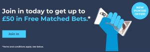 Betconnect £50 free bet