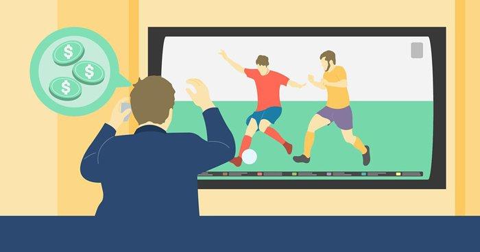 Popularity of football betting