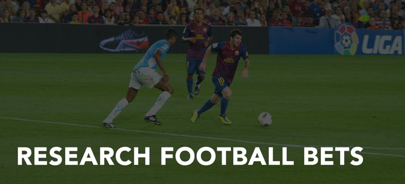 Research football bets