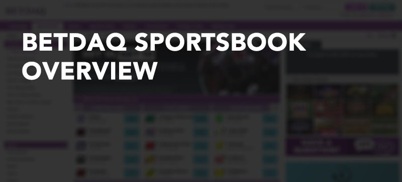 Betdaq sportsbook overview