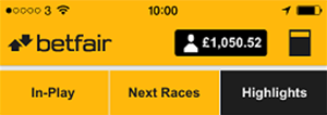 Betfair betting balance