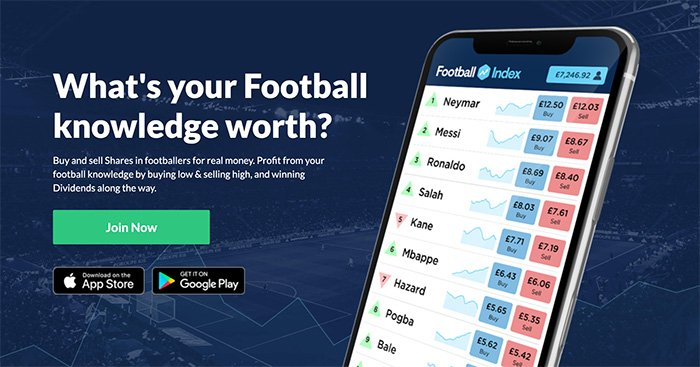 Football Index home