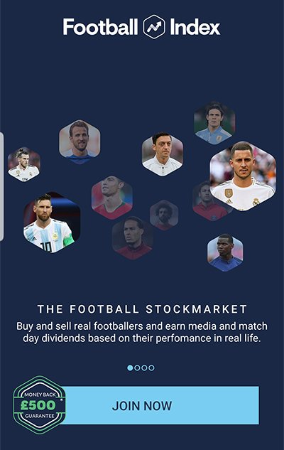 Join Football Index now