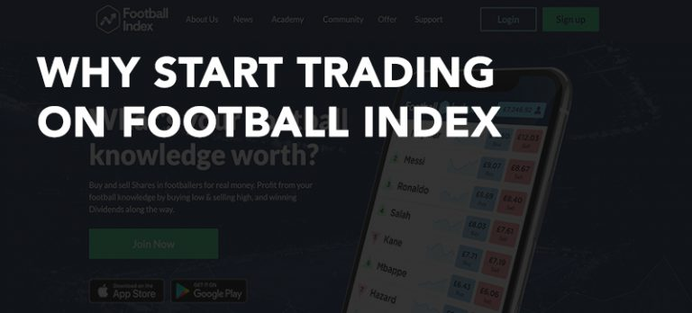 Trading on Football Index