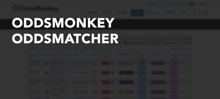 Using the OddsMonkey OddsMatcher