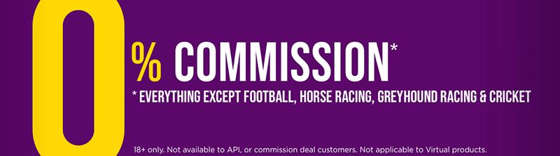 Betdaq commission is 0%