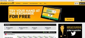 Betfair exchange US
