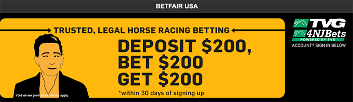 Betfair US - Matched betting
