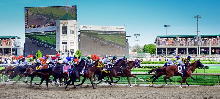 Horse racing betting in the US