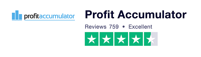 Profit Accumulator - Trustpilot score