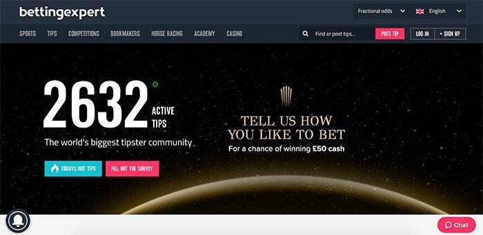 Bettingexpert tipster site