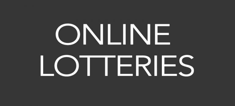 Online lotteries