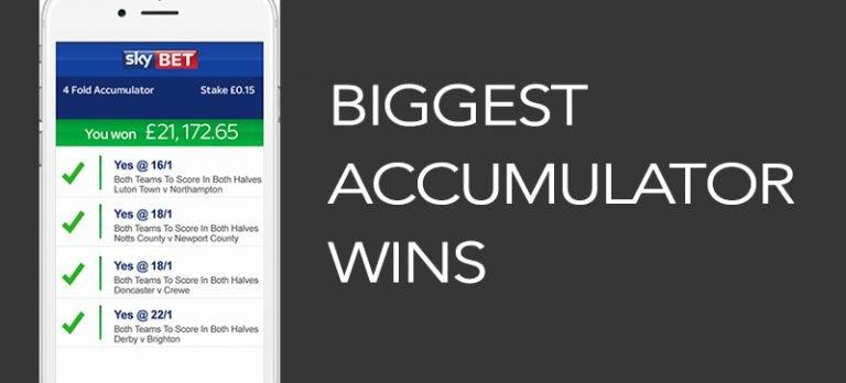 Biggest accumulator wins
