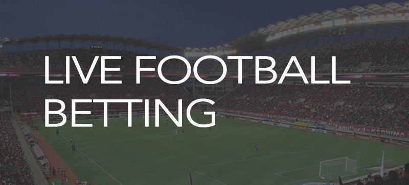 Live football betting strategies