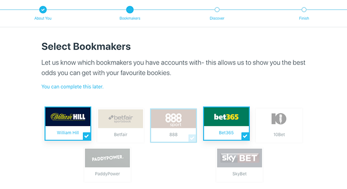 Tipstrr bookmakers