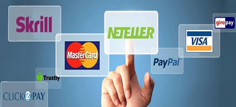 Casino payment methods Videoslots